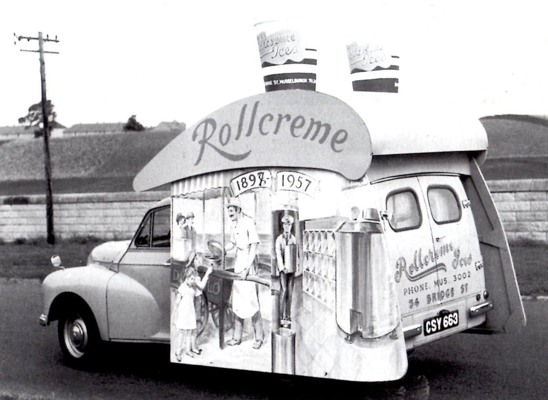 Musselburgh fancy dress parade, 1957.